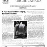 Review in Organ Canada