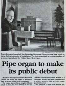 Langley Times - Inauguration
